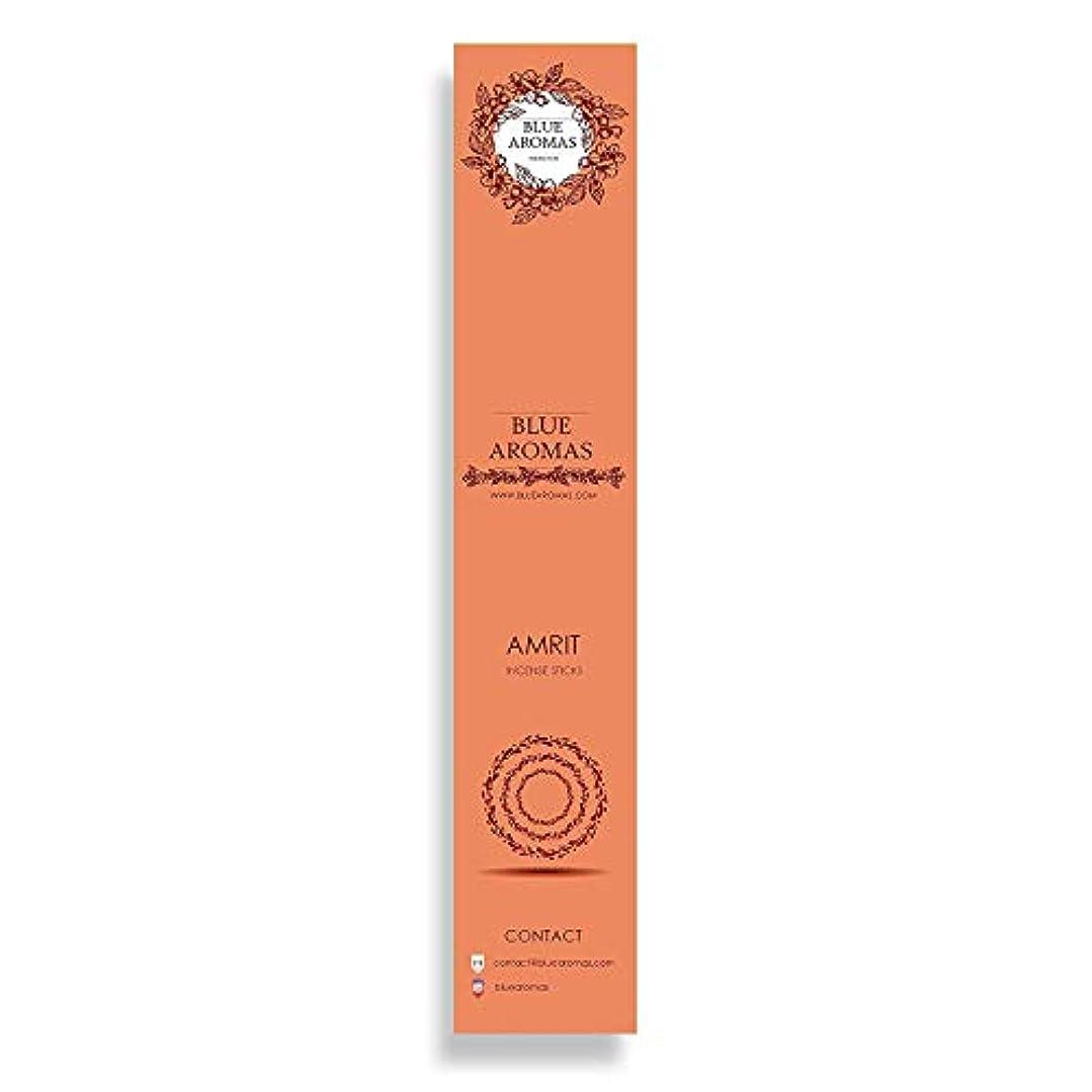 ハンドブックフィット悪のBlue Aromas Amrit Incense Sticks Agarbatti |Pack of 8, 10 Sticks in Each Pack Incense | Export Quality