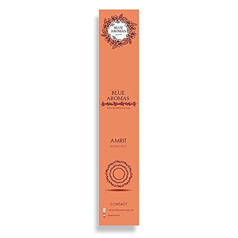 わかる世紀新しい意味Blue Aromas Amrit Incense Sticks Agarbatti |Pack of 8, 10 Sticks in Each Pack Incense | Export Quality