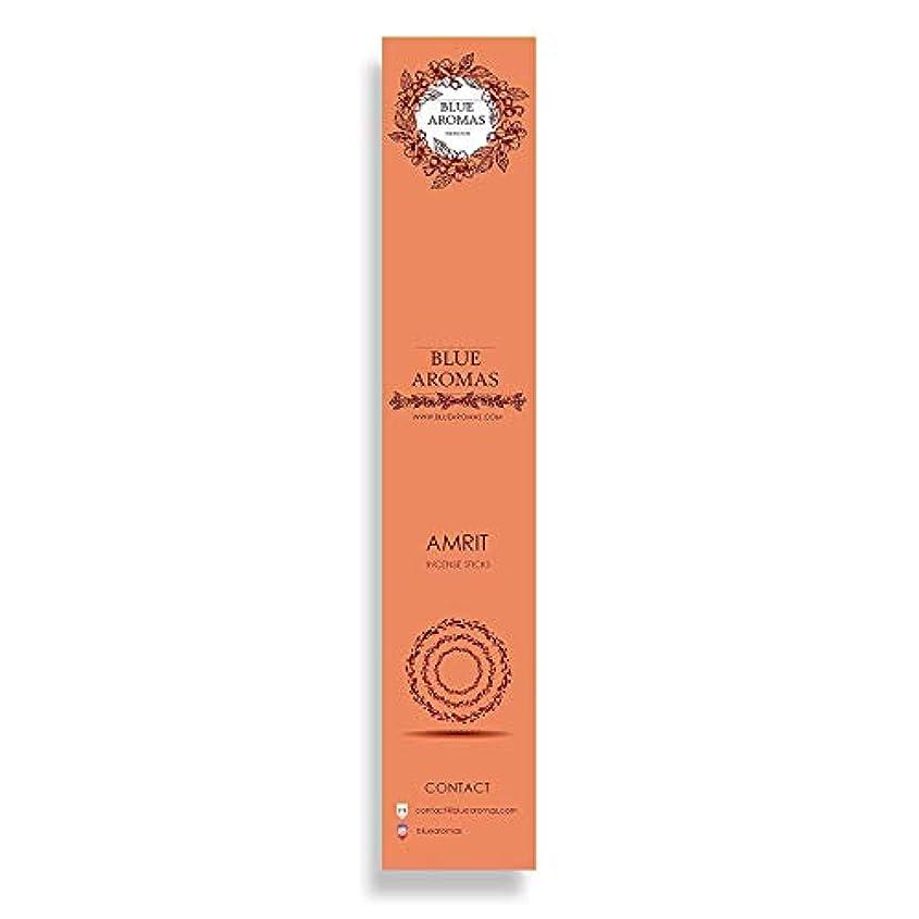 巨大嘆願計り知れないBlue Aromas Amrit Incense Sticks Agarbatti  Pack of 8, 10 Sticks in Each Pack Incense   Export Quality