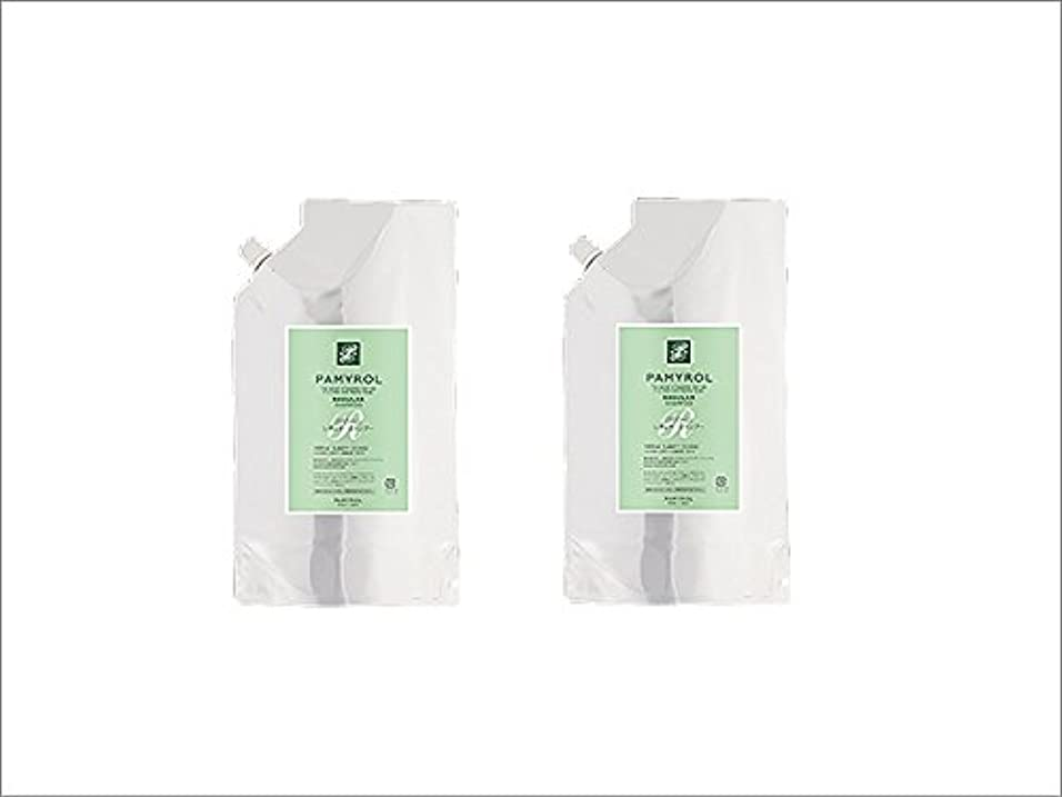 香り入場外科医パミロール レギュラーシャンプー1000mlパウチ 2袋セット