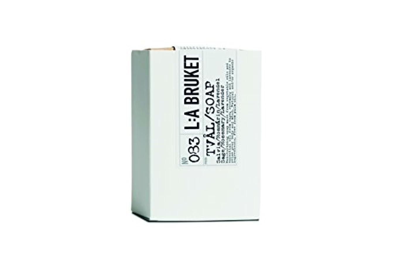 L:a Bruket (ラ ブルケット) バーソープ (セージ?ローズマリー?ラベンダー) 120g