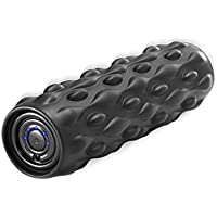Vulken(ヴァルケン) 32cm 振動フォームローラー4段階スピード強力深層組織フィットネスマッサージ、筋肉疲労回復トリガーポイント療法、筋膜リリース