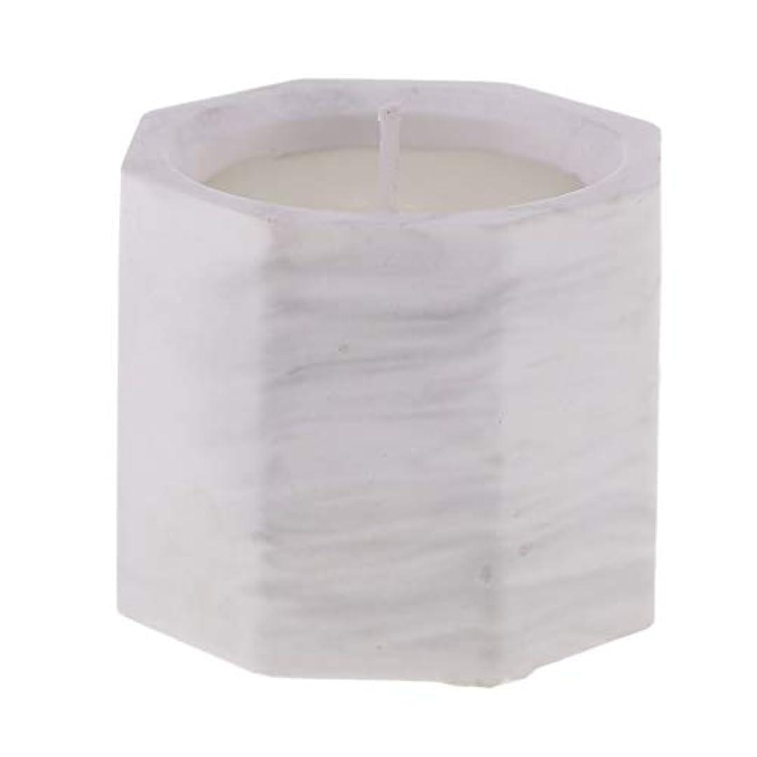 バタフライ学習マスクD DOLITY アロマキャンドル オクタゴン形 香りキャンドル 友人用 誕生日用 家族用 約58mm