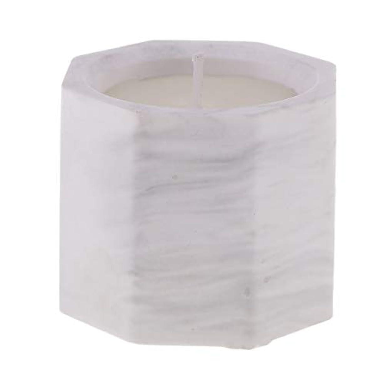 D DOLITY アロマキャンドル オクタゴン形 香りキャンドル 友人用 誕生日用 家族用 約58mm