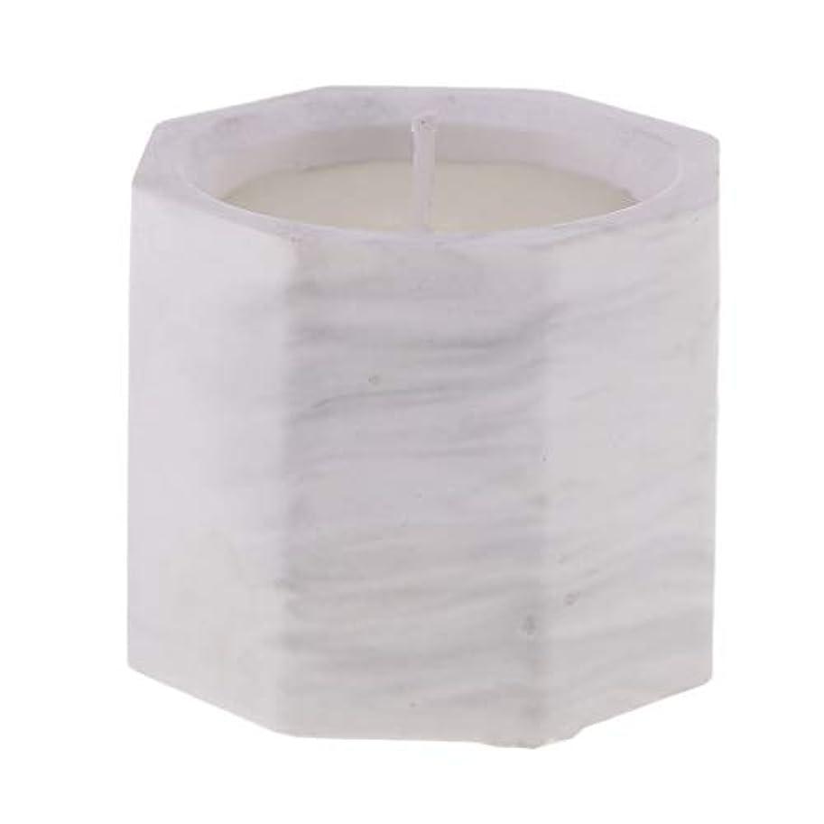 恥ずかしさ水素七時半アロマキャンドル オクタゴン形 香りキャンドル 友人用 誕生日用 家族用 約58mm