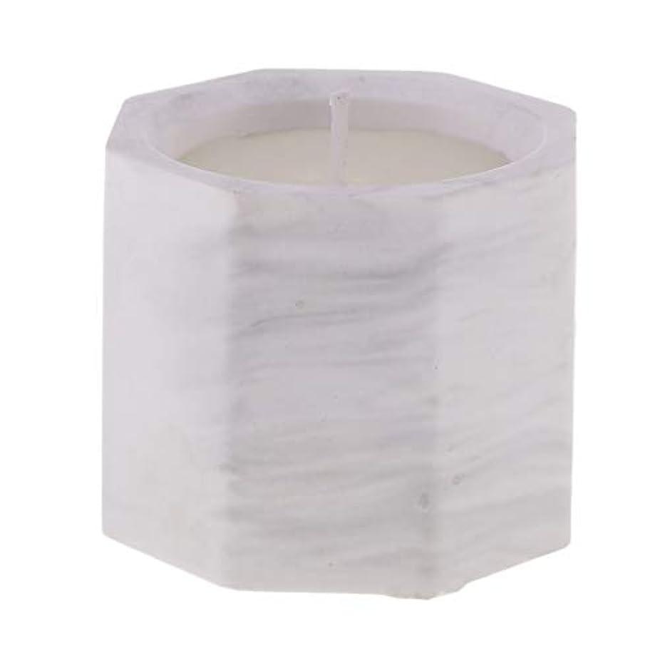 スクワイア距離眉アロマキャンドル オクタゴン形 香りキャンドル 友人用 誕生日用 家族用 約58mm