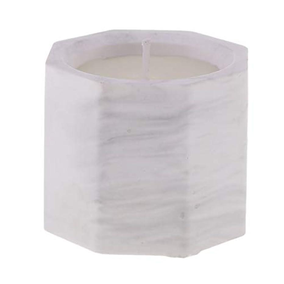 セッション検出従者アロマキャンドル オクタゴン形 香りキャンドル 友人用 誕生日用 家族用 約58mm