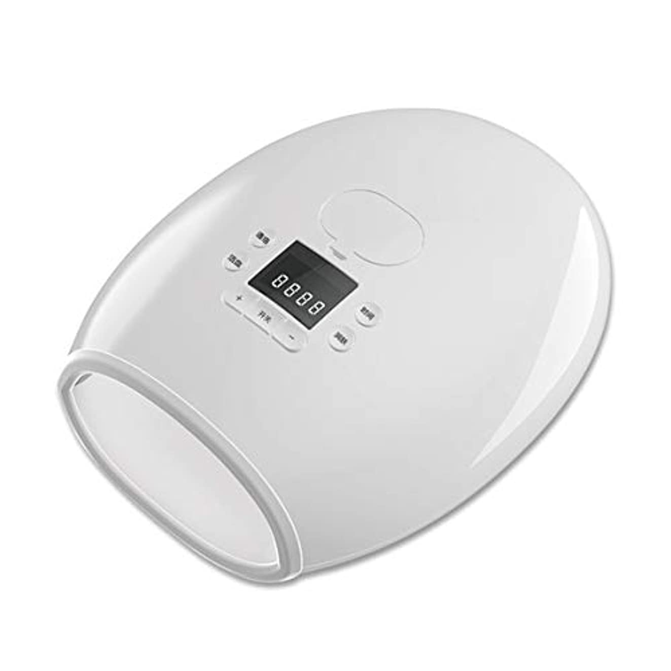 修道院増幅明快Intercorey Massage Beauty Tool Hand Warm Hand Hydrating Care Palm Massager Hand Electric Heating Massage Instrument