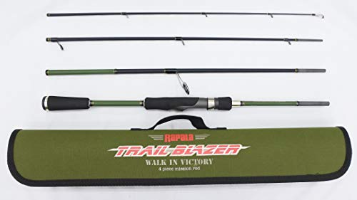 ラパラ トレイルブレイザー 4ピース パックロッド TBS664MHRFTrail Blazer Rod TBS664MHRF