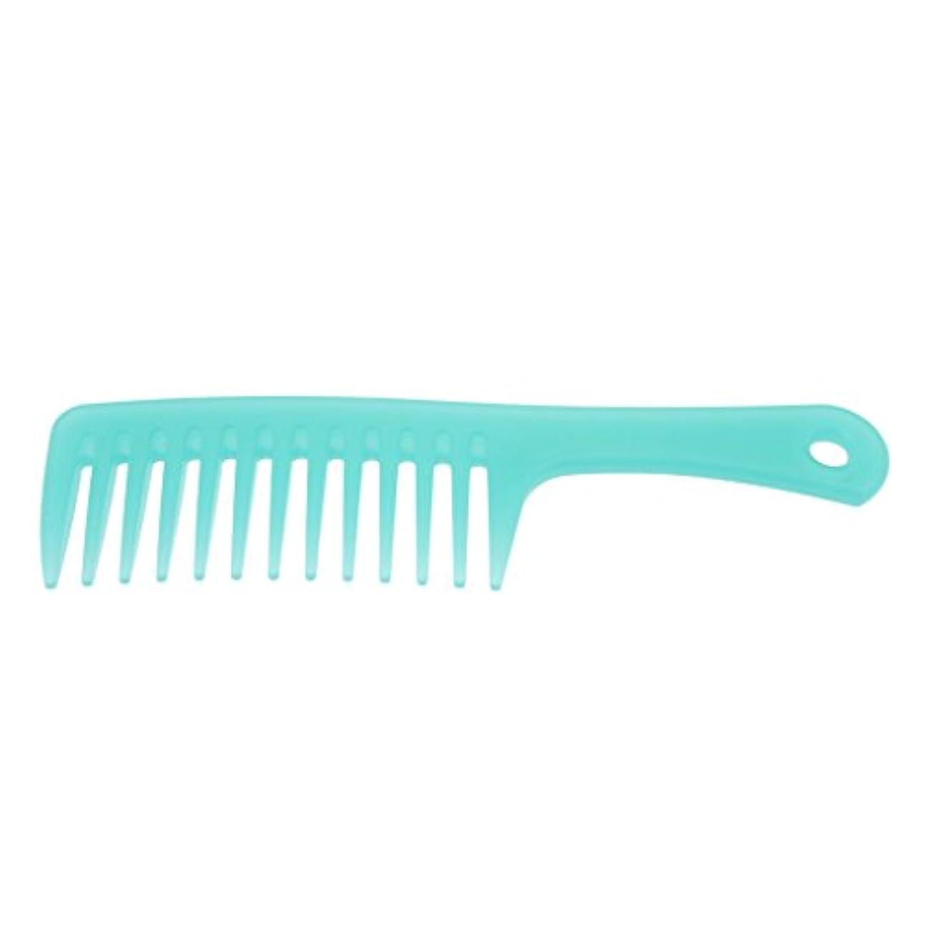 コットン飼料天皇ヘアコーム ヘアブラシ くし ワイド歯 櫛 帯電防止 便利 3タイプ選べる - B