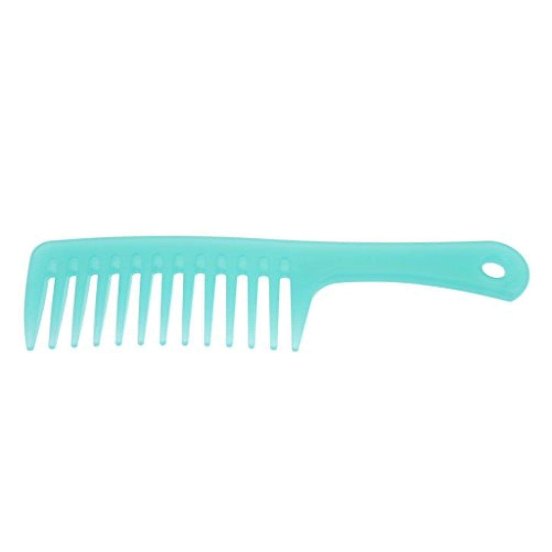 Homyl ヘアコーム ヘアブラシ くし ワイド歯 櫛 帯電防止 便利 3タイプ選べる - B
