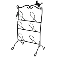 猫のスリッパラック/スリッパ立て 【3段 幅30cm】 スチールフレーム 【完成品】