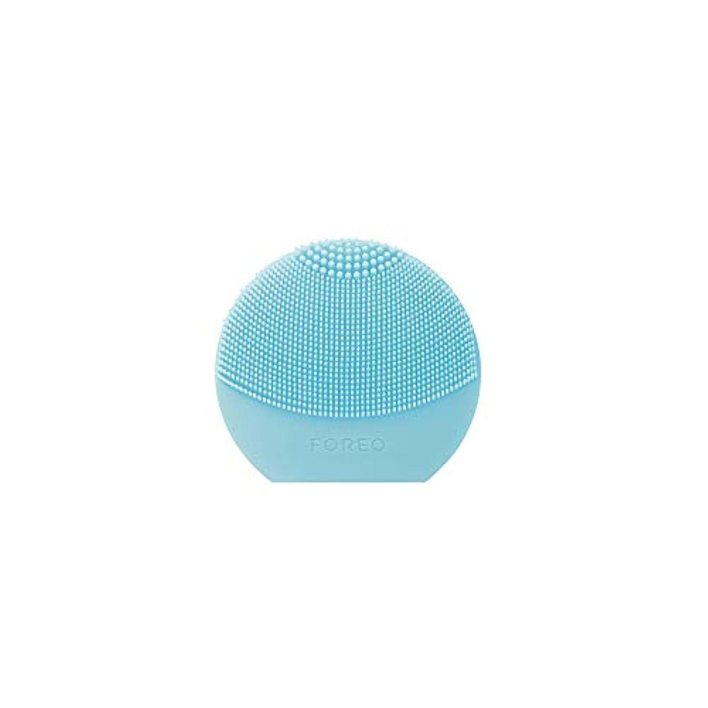 急速な信仰誤解させるFOREO LUNA Play Plus ミント シリコーン製 音波振動 電動洗顔ブラシ 電池式