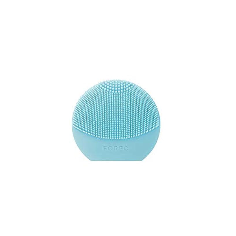 FOREO LUNA Play Plus ミント シリコーン製 音波振動 電動洗顔ブラシ 電池式