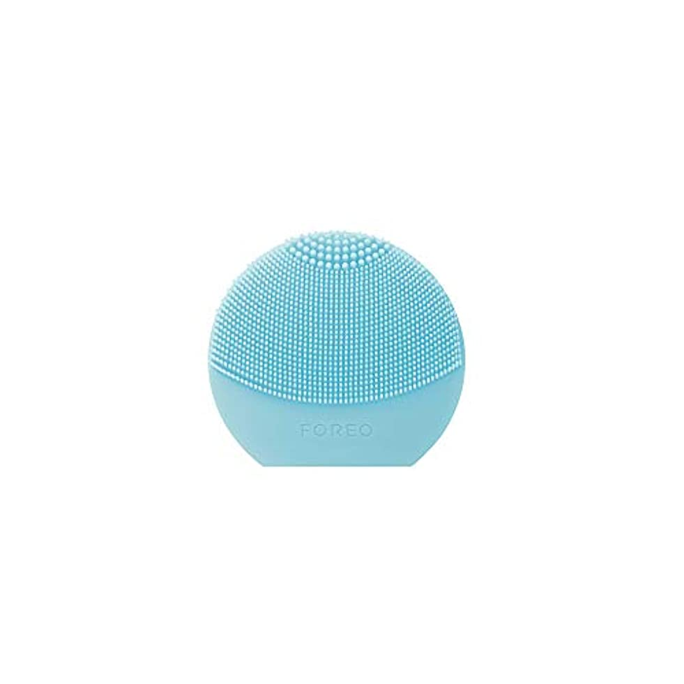 慢なコック人気のFOREO LUNA Play Plus ミント シリコーン製 音波振動 電動洗顔ブラシ 電池式