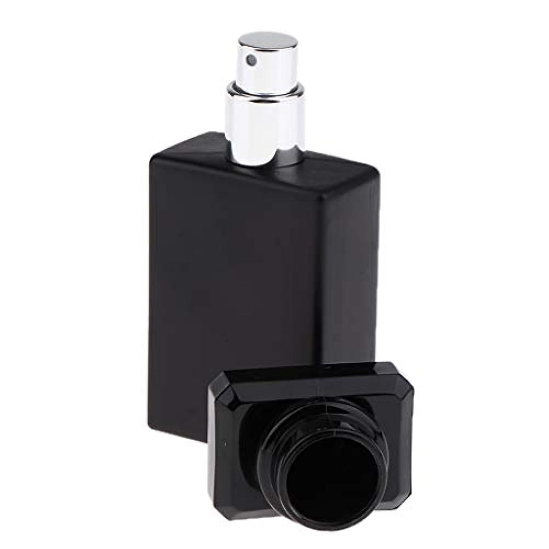 レビューボルト中庭SM SunniMix 香水ガラス瓶 ガラスボトル 香水瓶 アトマイザー 空のボトル スプレーボトル 化粧品ボトル 全2色選ぶ - ブラック