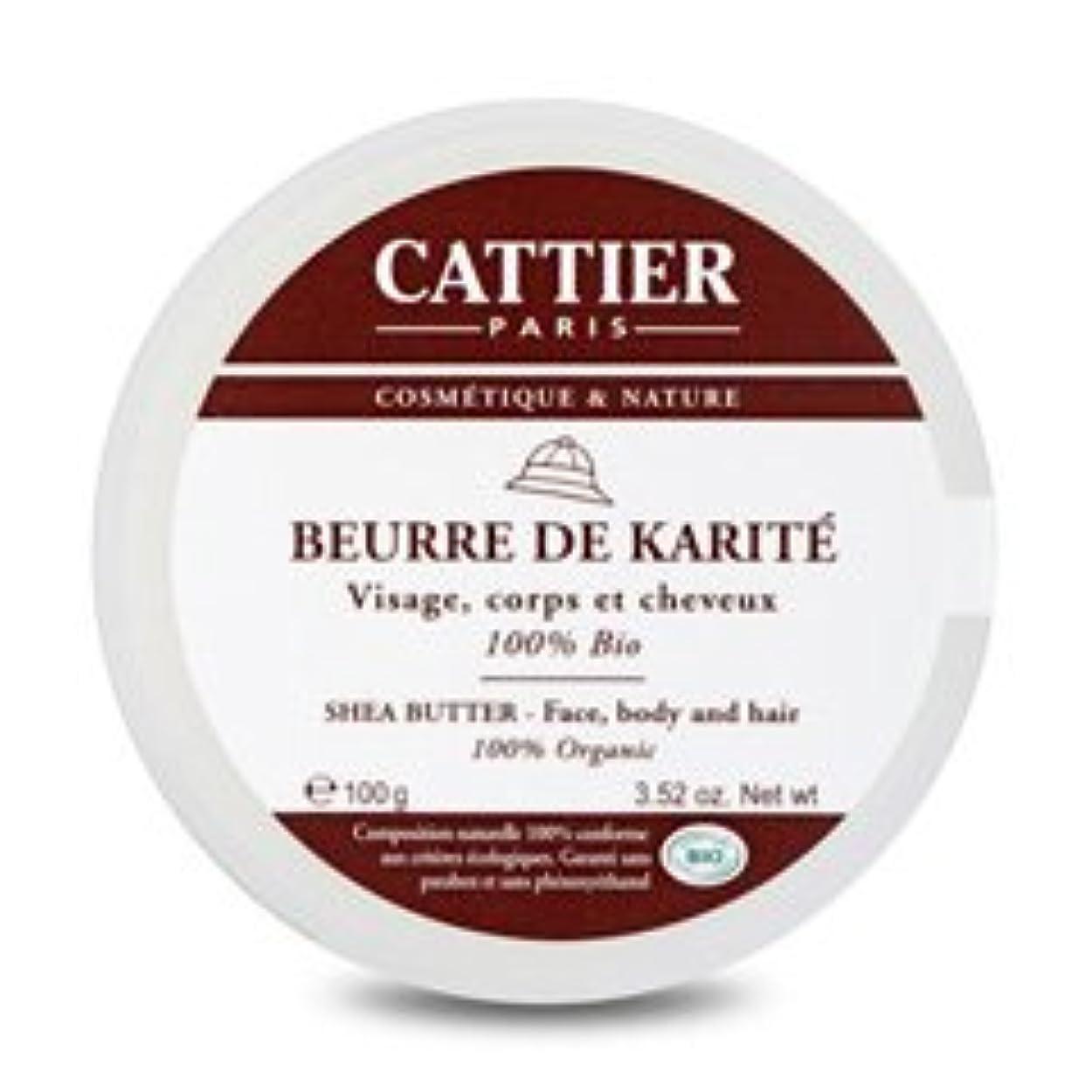 チョコレート関与する歯科医カティエ(cattier) シアバター 100% BIO 100g [海外直送品][並行輸入品]