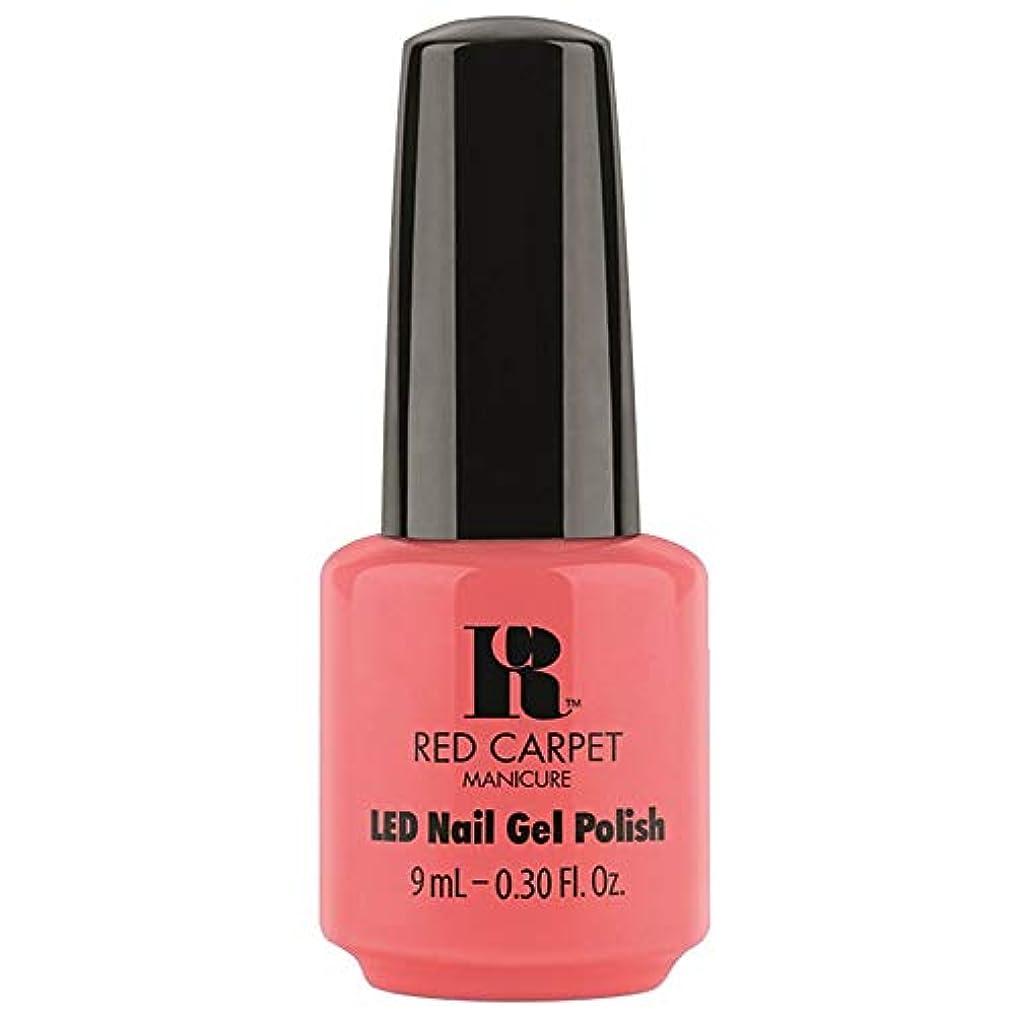 スーダン黙認する略奪Red Carpet Manicure - LED Nail Gel Polish - Until the Sun-Sets - 0.3oz / 9ml