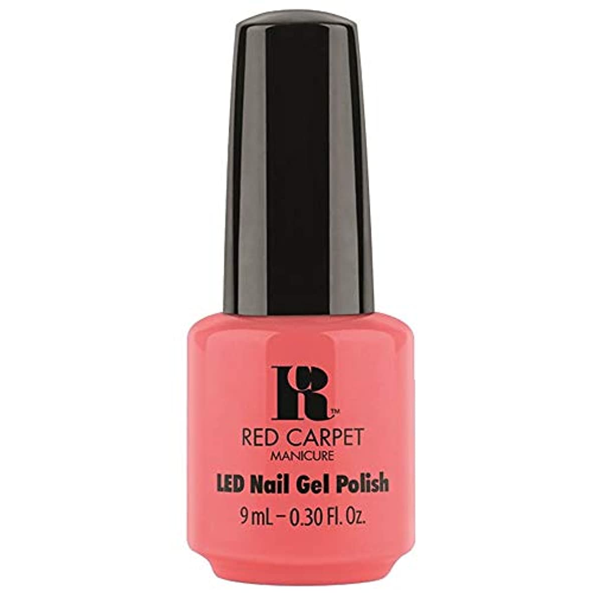 理容室共和国共和党Red Carpet Manicure - LED Nail Gel Polish - Until the Sun-Sets - 0.3oz / 9ml