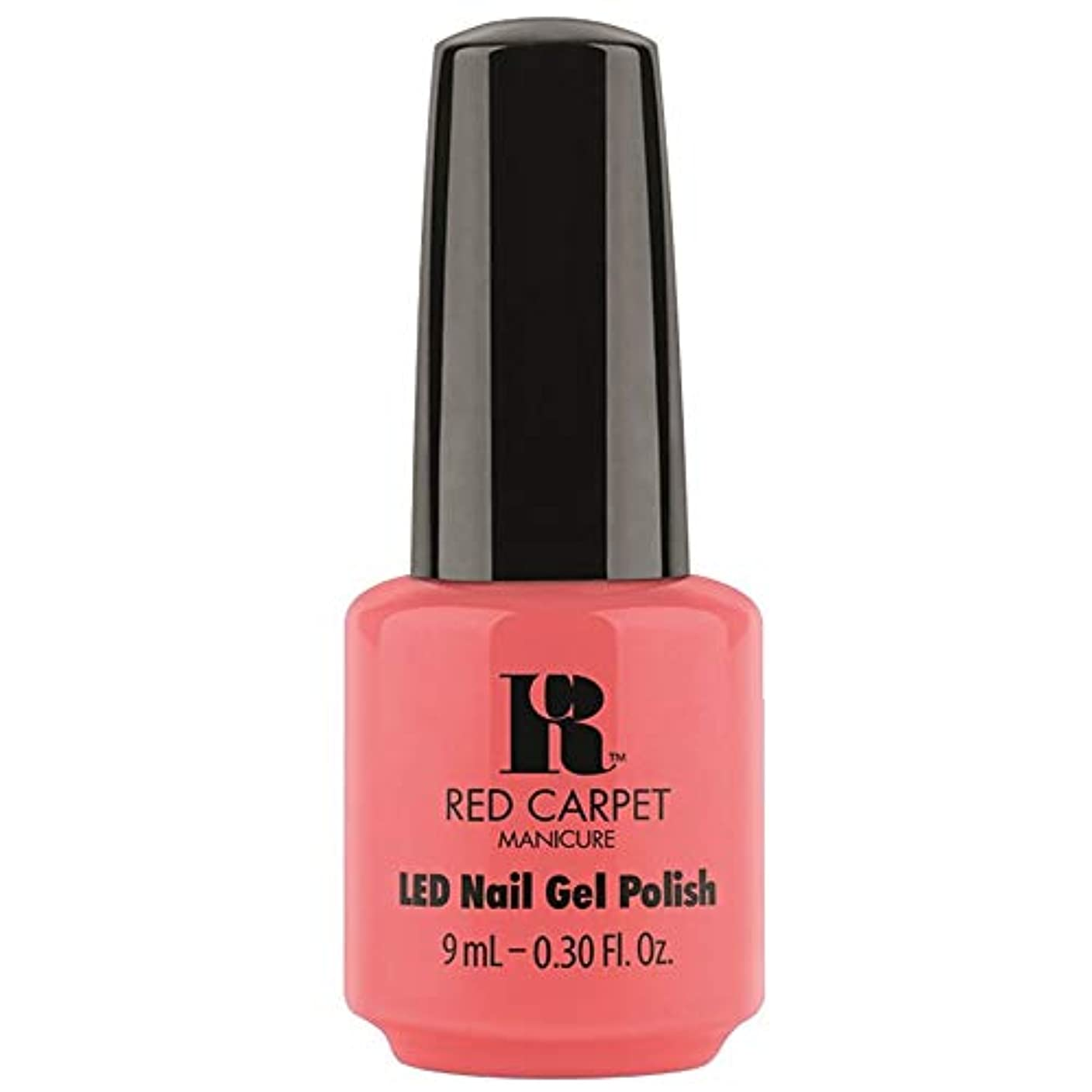 スラムビスケット捧げるRed Carpet Manicure - LED Nail Gel Polish - Until the Sun-Sets - 0.3oz / 9ml