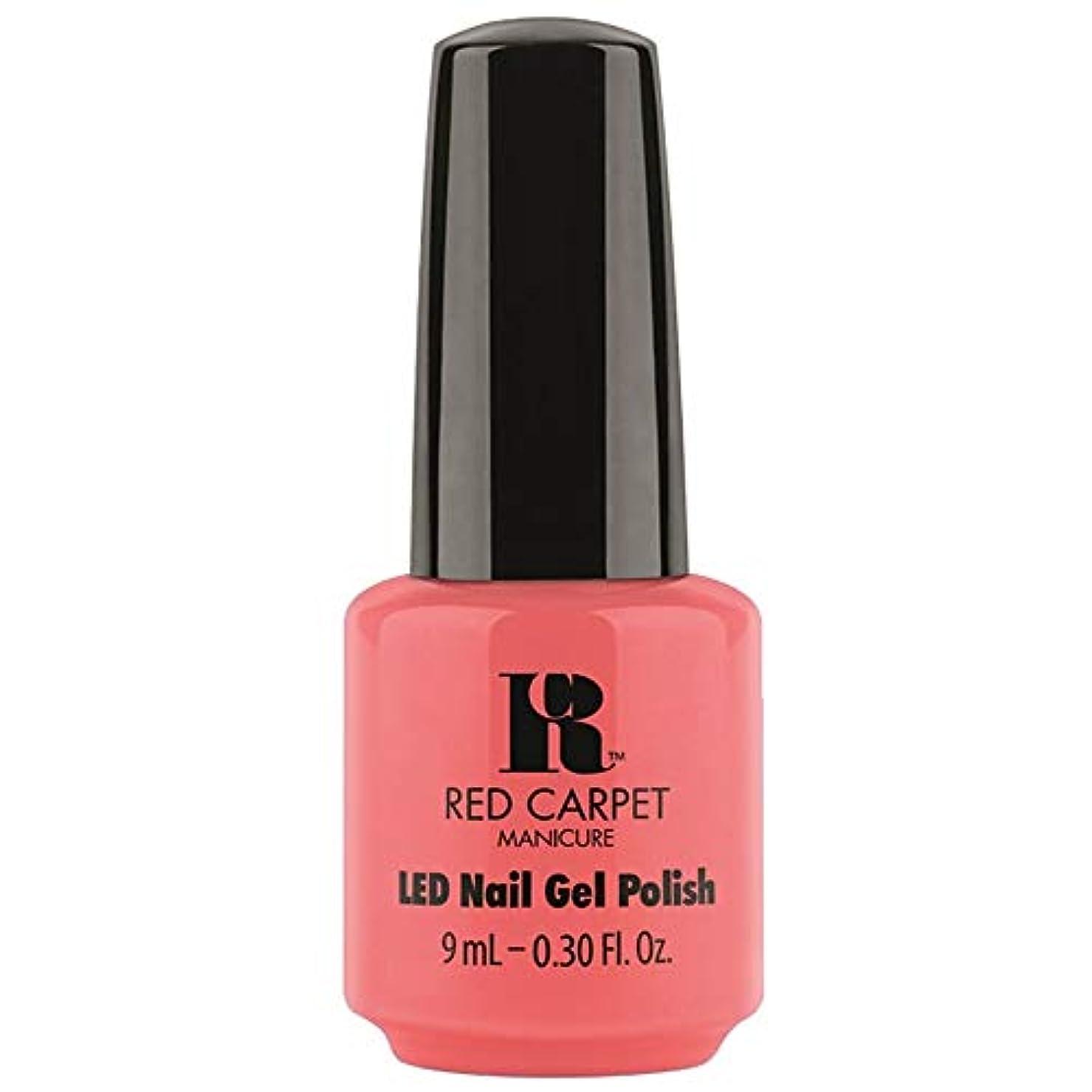 フロンティア水分悪のRed Carpet Manicure - LED Nail Gel Polish - Until the Sun-Sets - 0.3oz / 9ml
