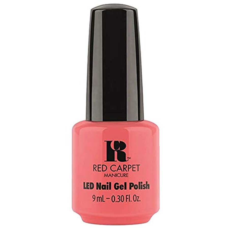 Red Carpet Manicure - LED Nail Gel Polish - Until the Sun-Sets - 0.3oz / 9ml