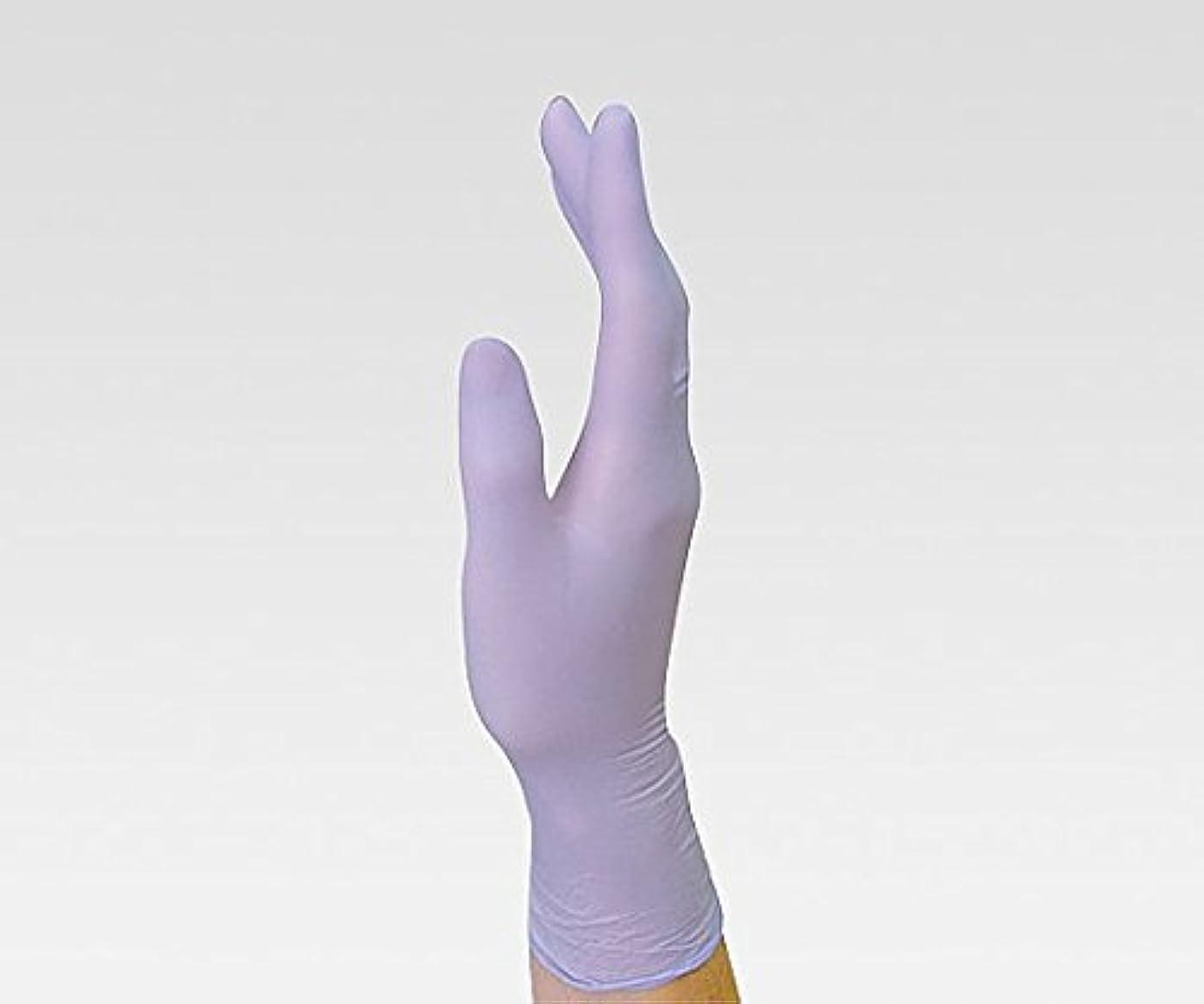 非難する葉を拾うホラーニトリル手袋 NBR-700 SS /8-4868-02