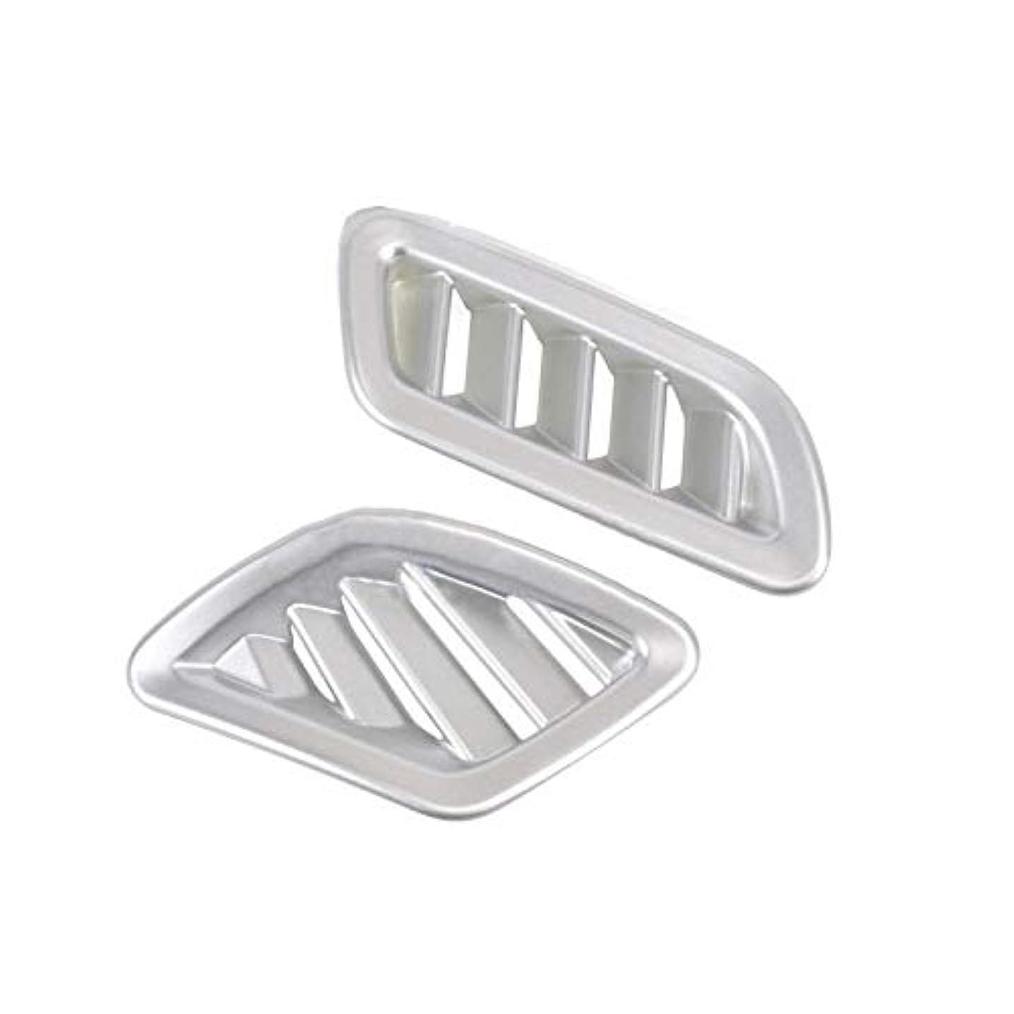 抗議脊椎ナイロンJicorzo - Car Interior Dashboard Vent Cover Trim Sticker Car Interior Styling Accessory For Jeep Renegade 2016...