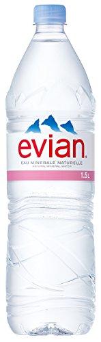 伊藤園 Evian(エビアン) ミネラルウォーター 1.5L×...