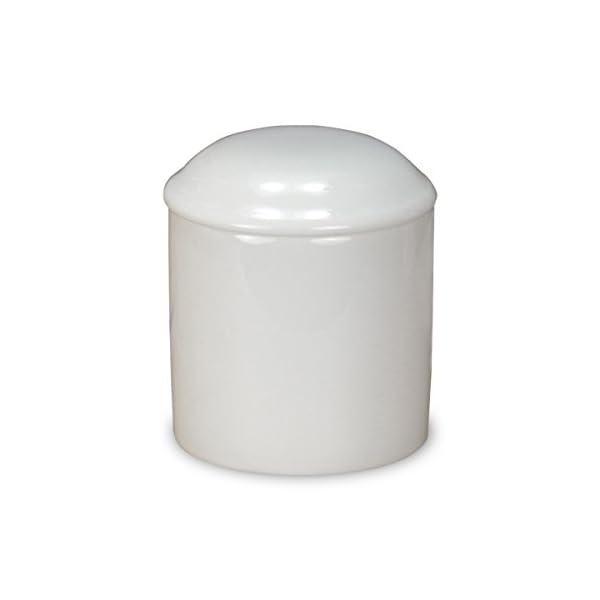 タツクラフト ミニ 骨壷 2寸 白無地 ホワイト...の商品画像