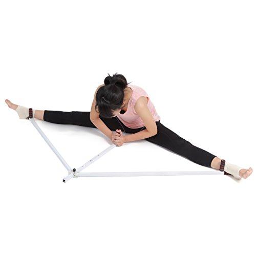 レッグストレッチング 自宅で一人でできる股関節の柔軟運動マシン くるぶしサポーター付き/【NET-O】