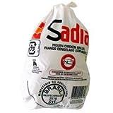 Sadia(サディア) ハラールマーク ハラル認証 冷凍チキングリラー 丸鶏 丸鳥 中抜き ブラジル産 1000g