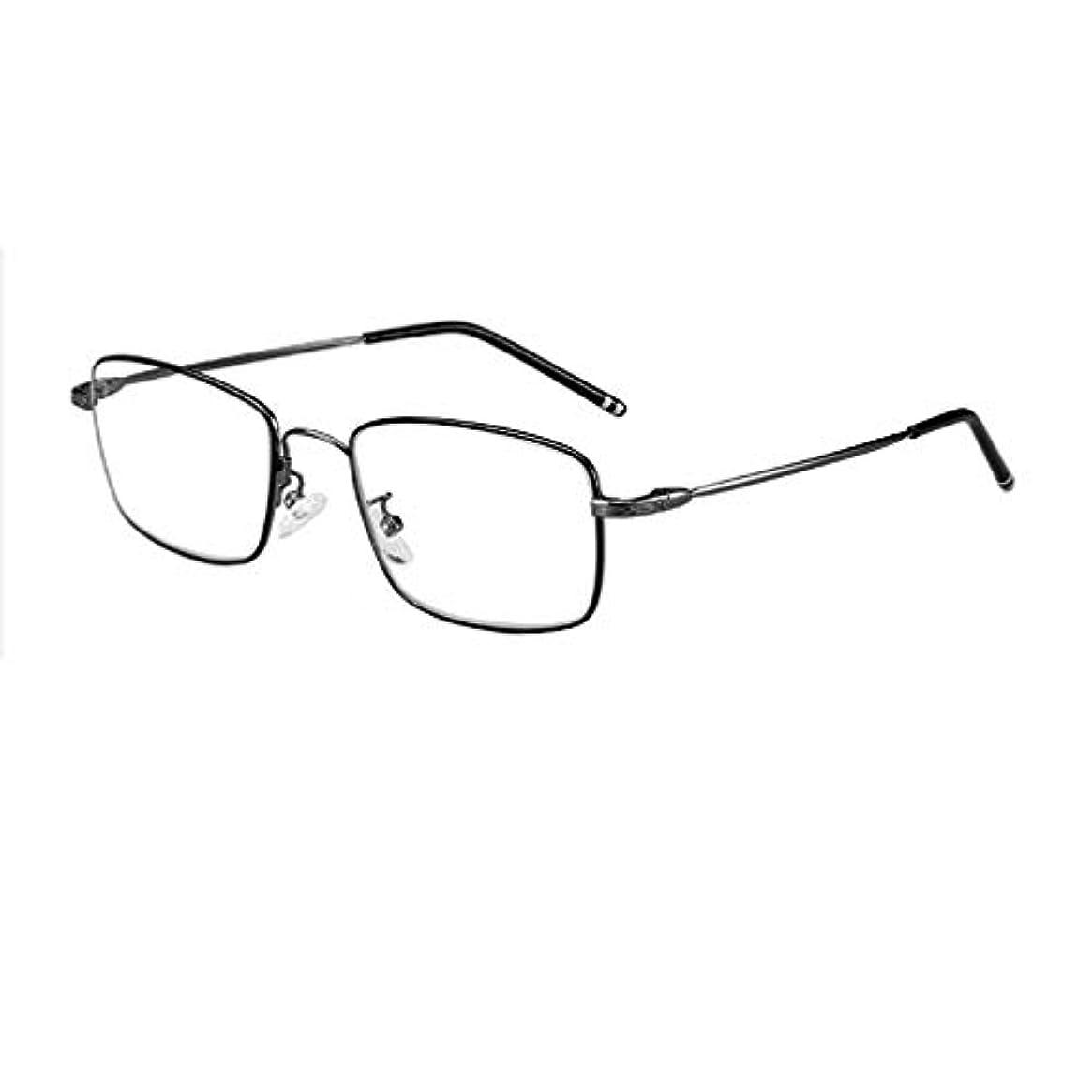 識字ファウル流出老眼鏡、インテリジェントオートズーム、超軽量男性用老眼鏡(3個)、プログレッシブ多焦点レンズ、遠近使用、HDアンチブルーライト、透明メガネ