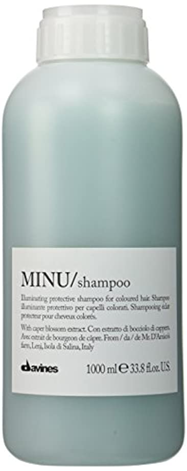 失効ラテン先ダヴィネス Minu Shampoo Illuminating Protective Shampoo (For Coloured Hair) 1000ml/33.8oz並行輸入品