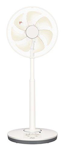 パナソニック リビング扇風機 DCモーター 温度センサー搭載 切/入タイマー付 シルキーベージュ F-CR338-C