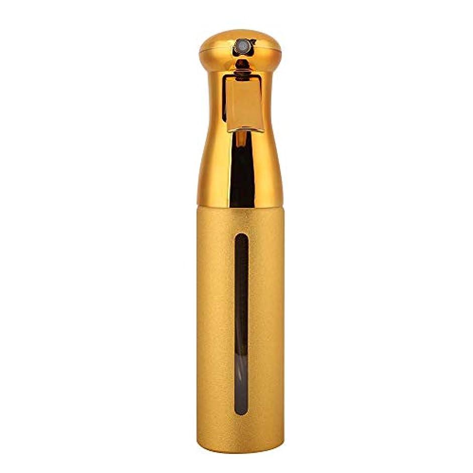 熱心気まぐれなウナギ250ml理髪スプレーボトル、サロン床屋ヘアツールファインミストスプレースタイリングツール(ゴールド)