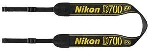 Nikon ネックストラップ D700付属 一眼レフ用 シンプル ブラック AN-D700