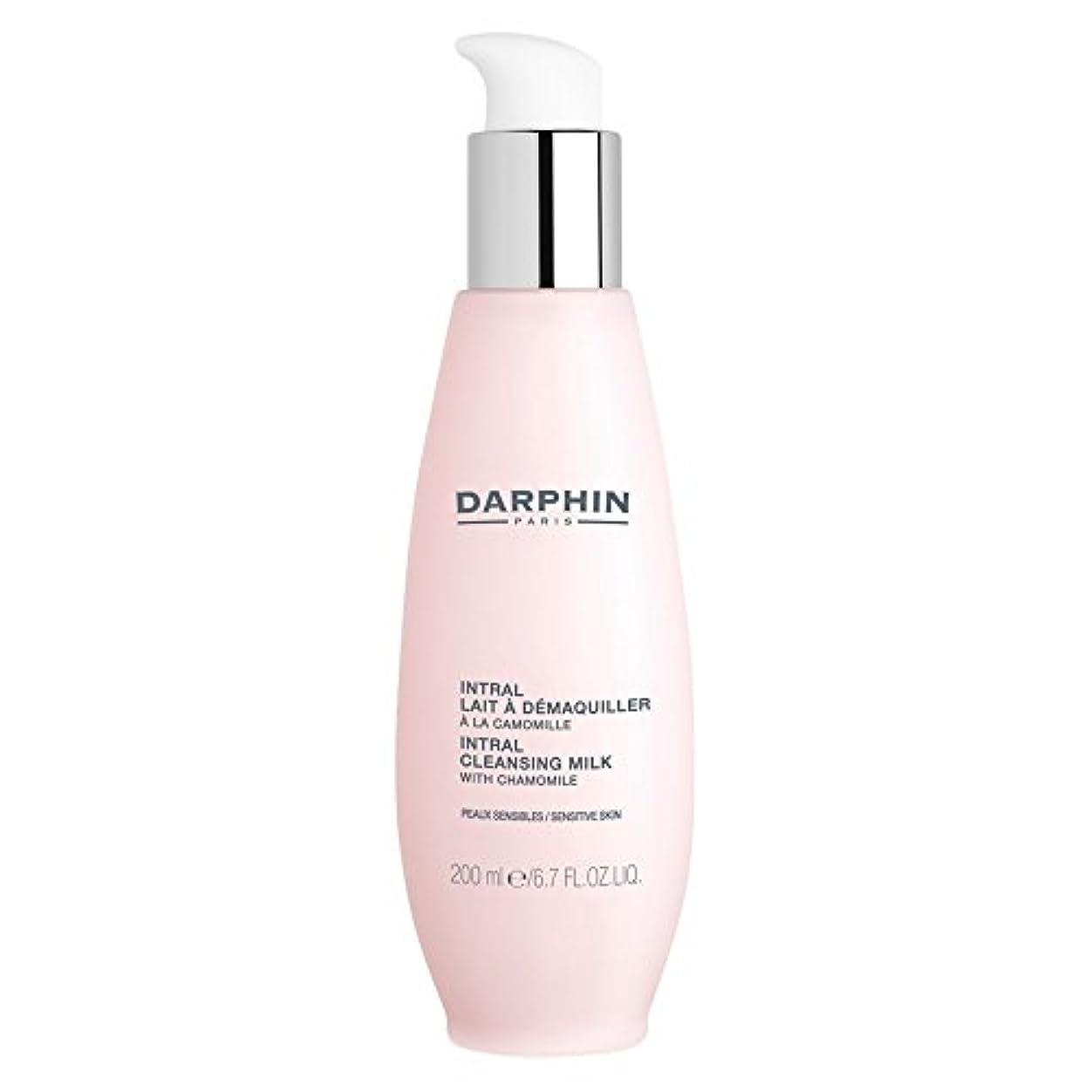 の配列迷信砂利ダルファンIntralクレンジングミルク200ミリリットル (Darphin) (x6) - Darphin Intral Cleansing Milk 200ml (Pack of 6) [並行輸入品]