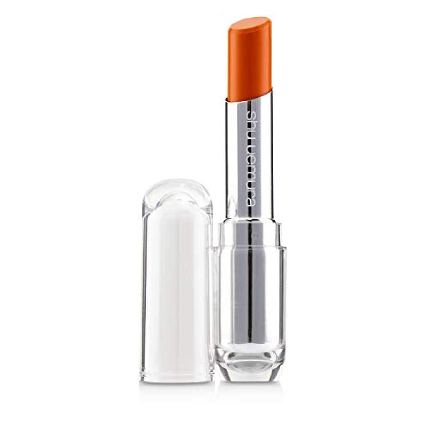 対一貫した肩をすくめるシュウウエムラ Rouge Unlimited Sheer Shine Lipstick - # S OR 550 3.2g/0.01oz並行輸入品