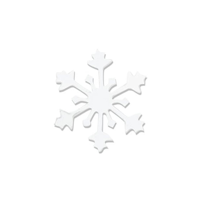 誘惑汚染する達成するリトルプリティー ネイルアートパーツ スノークリスタル SS ホワイト 15個