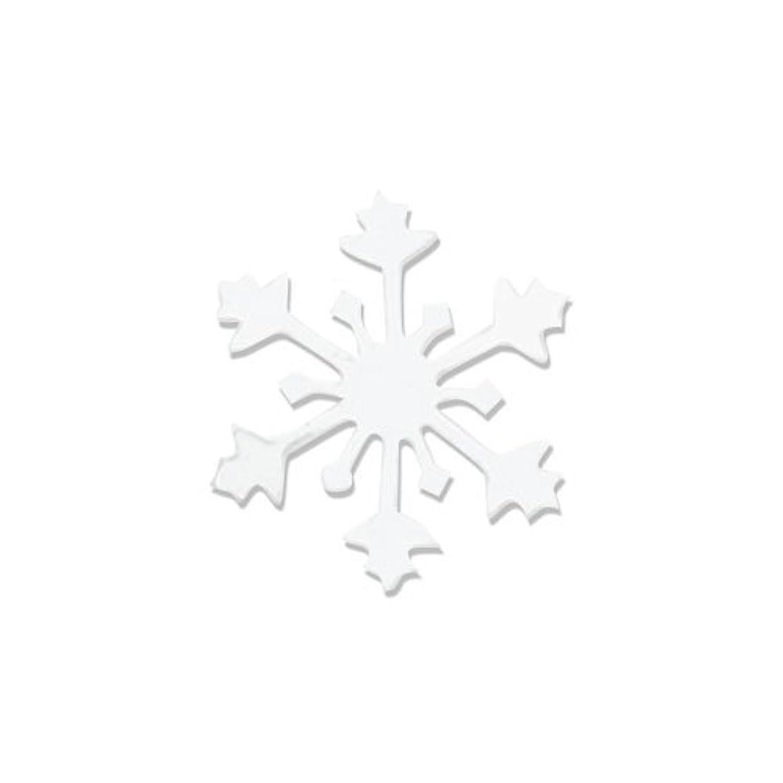 パスポートアナニバー秋リトルプリティー ネイルアートパーツ スノークリスタル SS ホワイト 15個