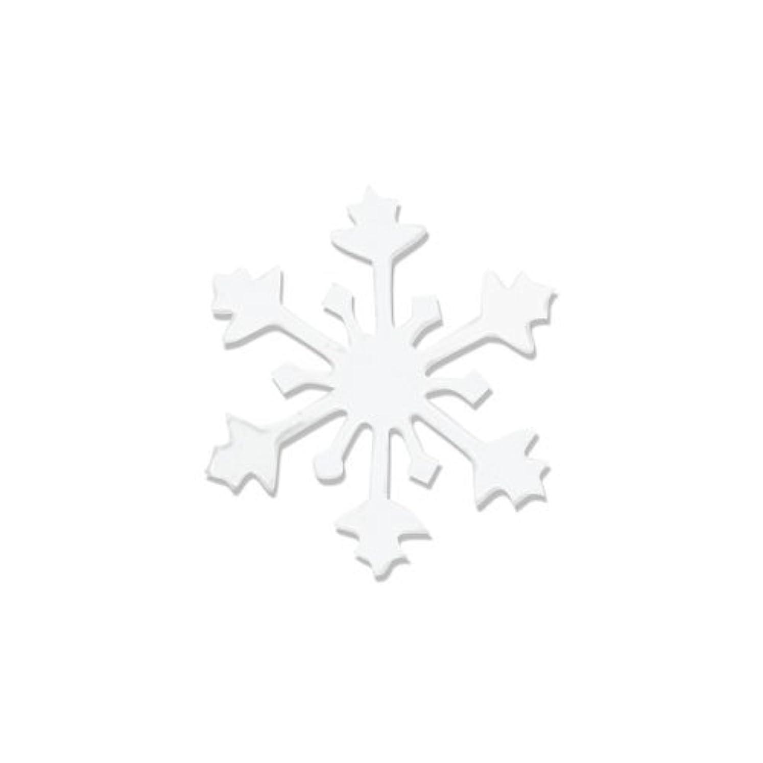 名誉順応性のあるジョグリトルプリティー ネイルアートパーツ スノークリスタル SS ホワイト 15個
