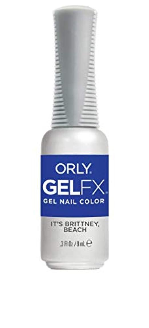 冷笑するブロッサム領域ORLY Gel FX - Euphoria 2019 Collection - It's Brittney, Beach - 0.3 oz / 9 mL