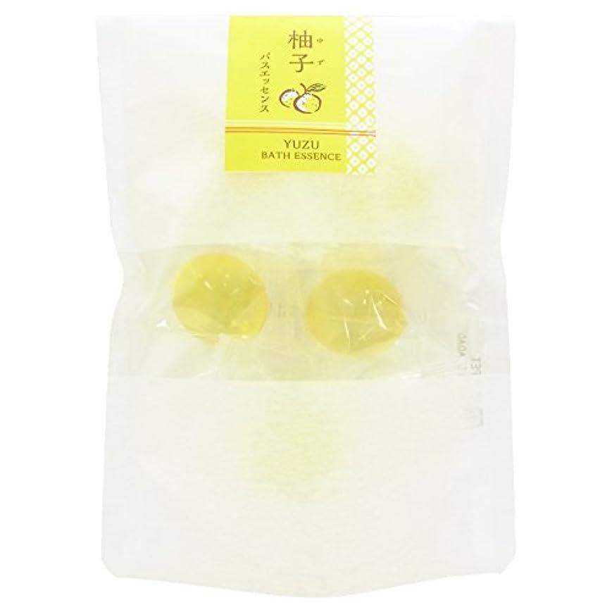 エチケット縁石従順和の湯 バスエッセンス 柚子 (8g × 5個)