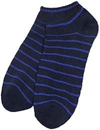 Shidori 男女兼用 ストライプ 靴下 ソックス リブソックス フリーサイズ 5色