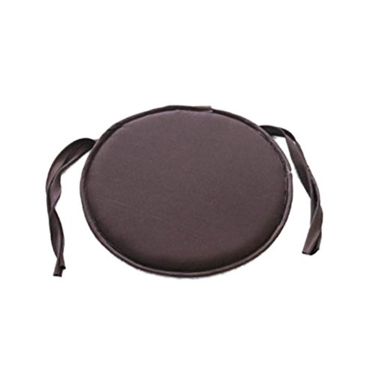 不愉快ヒント国家LIFE ホット販売ラウンドチェアクッション屋内ポップパティオオフィスチェアシートパッドネクタイスクエアガーデンキッチンダイニングクッション クッション 椅子