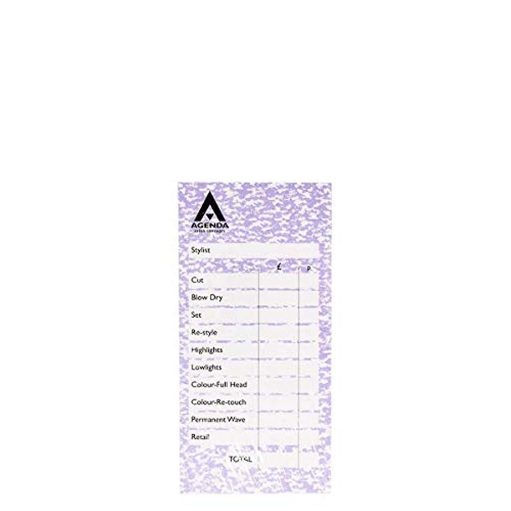 困惑ナチュラ文房具アジェンダ サロンコンセプト チェックパッドモーブ6x100リーフ[海外直送品] [並行輸入品]