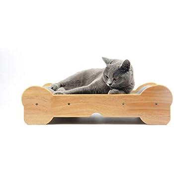 MUSUBI 猫用爪とぎ&ガリガリソファ 高密度ダンボール 爪とぎソファ 爪とぎベッド