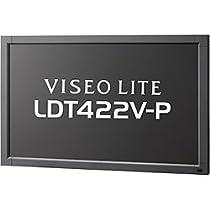 MITSUBISHI 42型ワイド液晶ディスプレイ(強化ガラス付き) LDT422V-P