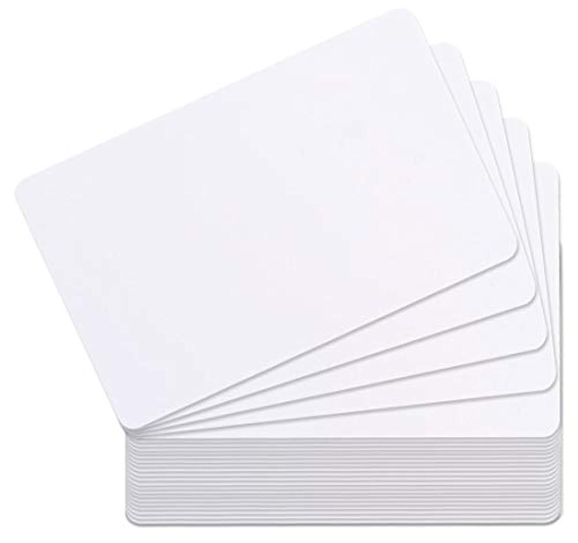 ロイヤリティ葉を集める労働者officeネット Mifare (マイフェアカード) 内蔵 ICカード 白無地 (50枚)